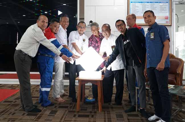Pertamina RU II Dumai gelar Seminar Energi dan Lomba Poster Pelajar 2019 di gedung Utama Pertamina RU II Dumai, Kamis (10/10/019). FOTO: Bambang