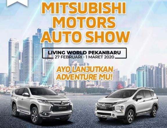 Ilustrasi Mitsubishi Motors Auto Show