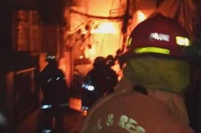 Ilustrasi: kebakaran