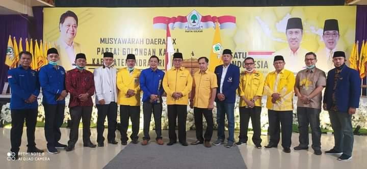Musda X Partai Golkar Kabupaten Indragiri Hilir