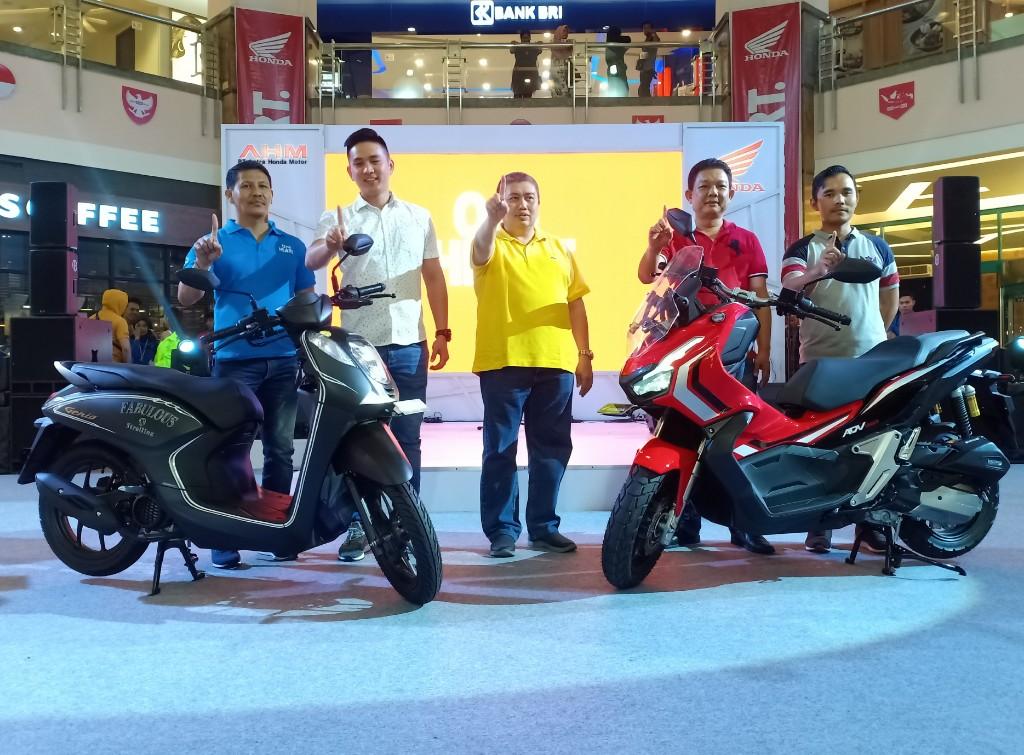 PT Capella Dinamik Nusantara launching dua produk baru skuter matik.