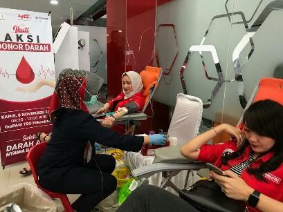 Aksi donor darah Periskasel
