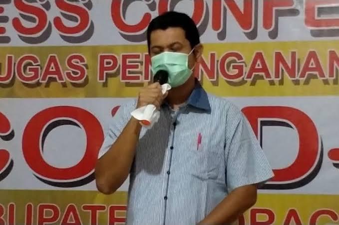 Ketua Tim Medis Percepatan Penanganan Covid-19 Kabupaten Inhil, dr Alexis.