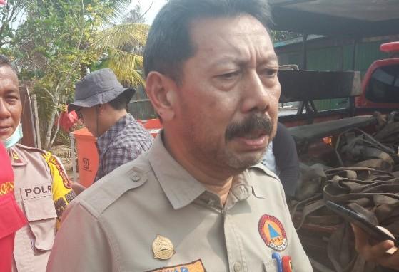 Kepala Badan Penanggulangan Bencana Daerah (BPBD) Provinsi Riau Edwar Sanger