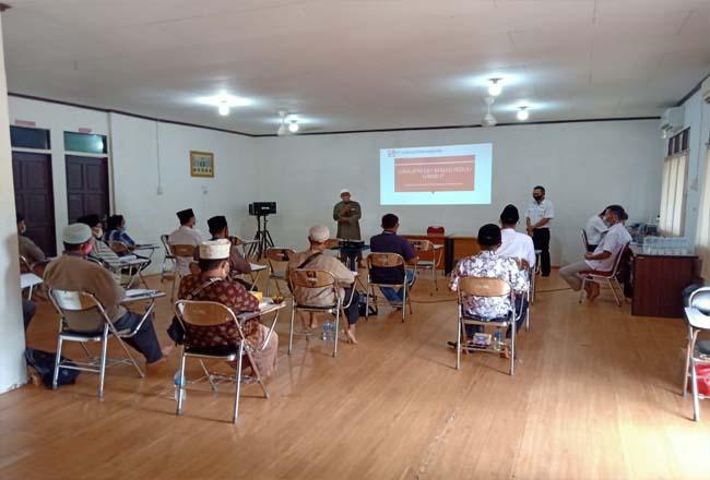 Lokalatih Online Dai Masjid Peduli Gambut serentak di Riau, Jambi dan Kalimantan Barat pada Sabtu (19/9/2020).