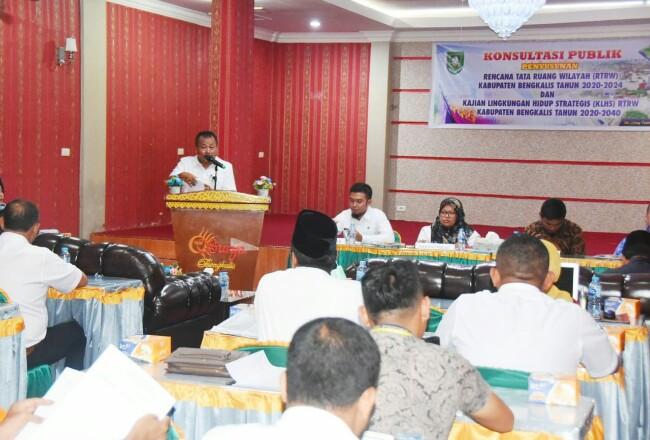 Forum Konsultasi Publik Pemkab Bengkalis.