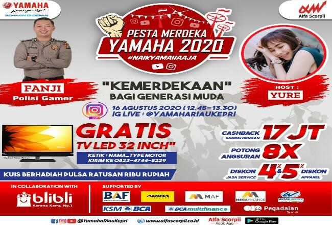 Pesta Merdeka Yamaha 2020.