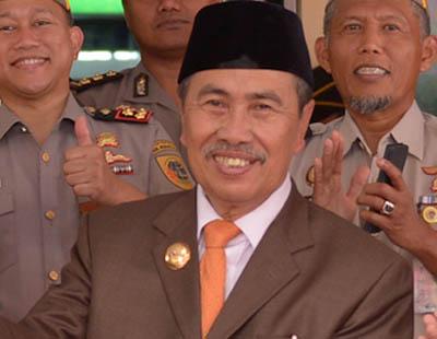 Gubernur Riau (Gubri), Syamsuar.