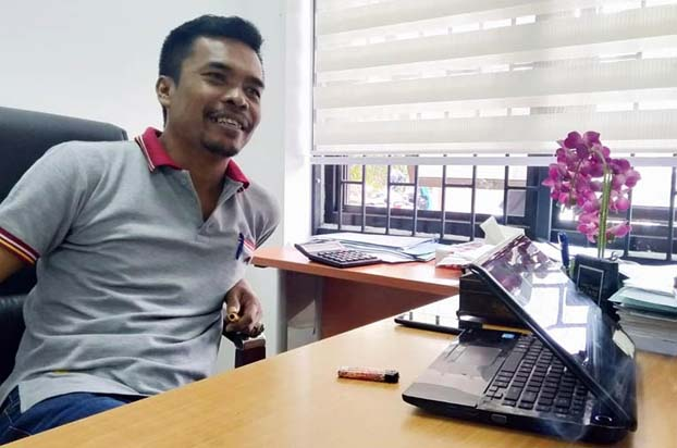 Kepala Bidang Pengelolaan Aset Hasvirta Indra