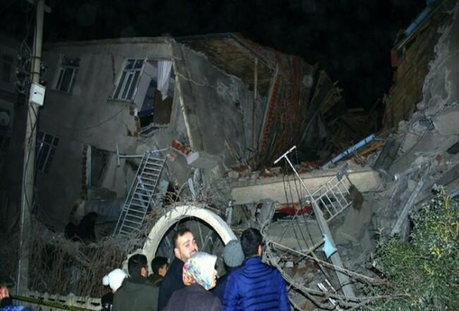 Gempa di Turki. Foto: Detik