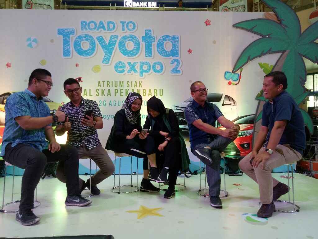 Road to Toyota Expo 2