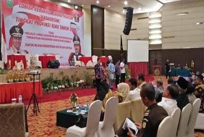 Kanwil Kemenkumham Riau taja Lomba Kadarkum.