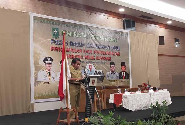 Sekdaprov Riau Yan Prana Jaya.