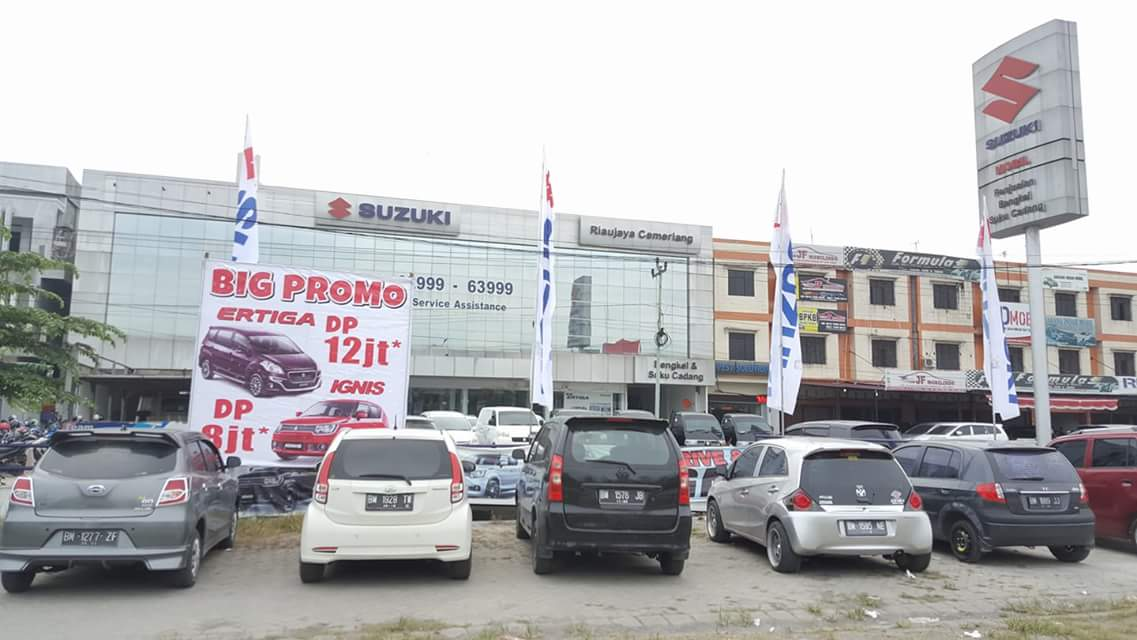 Showroom Suzuki Arengka, Pekanbaru
