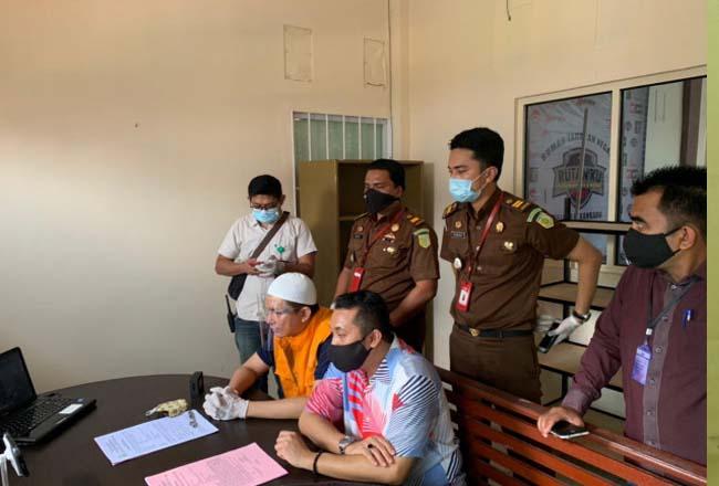 Berkas tersangka mantan Camat Tenayan Raya, Abdimas Syahfitra P21.