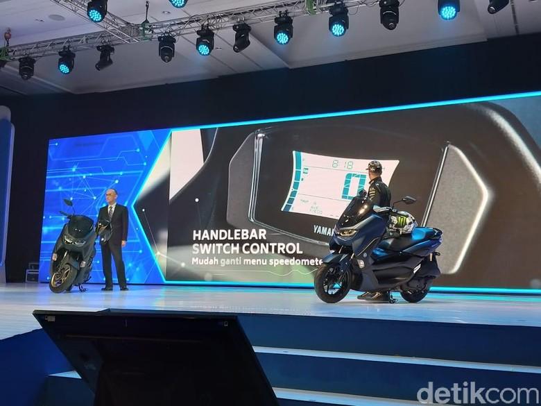 Peluncuran terbaru produk Yamaha. Foto detikOto