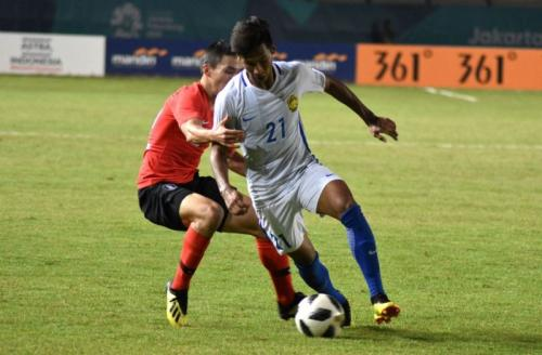 Bek Timnas Malaysia Syazwan Andik. FOTO: situs resmi AFF Suzuki Cup