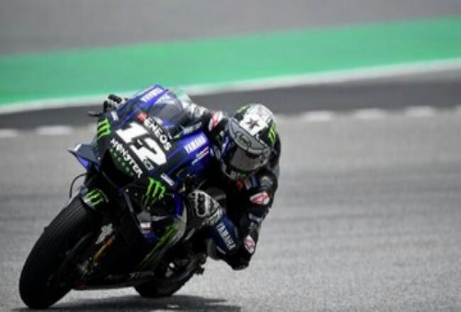 Maverick Vinales jadi yang tercepat di tes terakhir MotoGP di Qatar.