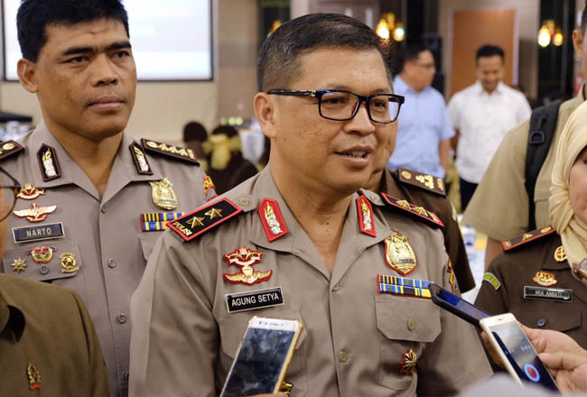 Kapolda Riau Irjen Pol Agung Setya Imam Effendi