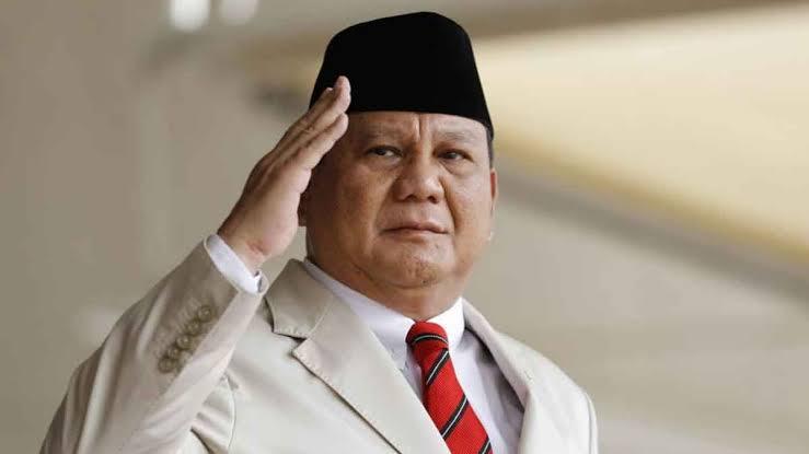 Menhan Prabowo.