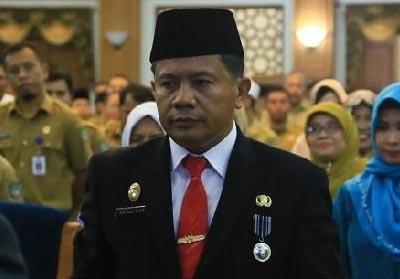Sekretaris Daerah Rohul, H. Abdul Haris