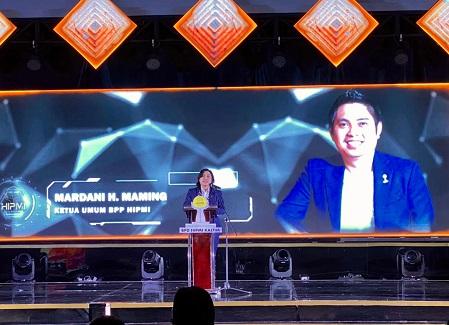Ketua Umum Badan Pengurus Pusat Himpunan Pengusaha Muda Indonesia (BPP HIPMI) Mardani H. Maming