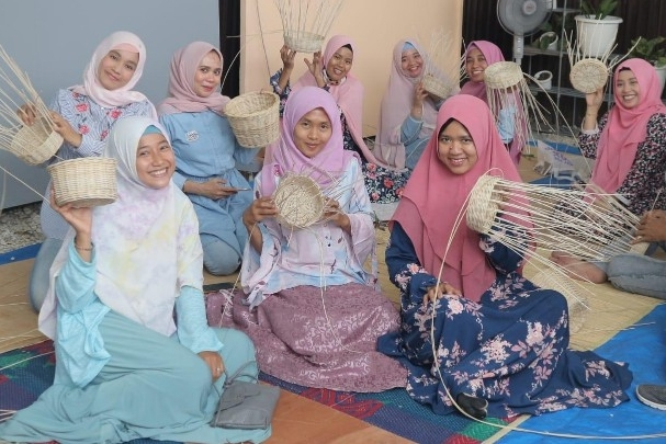 Komunitas Upload DIY Pekanbaru mengadakan mini class, Sabtu (7/12/2019).