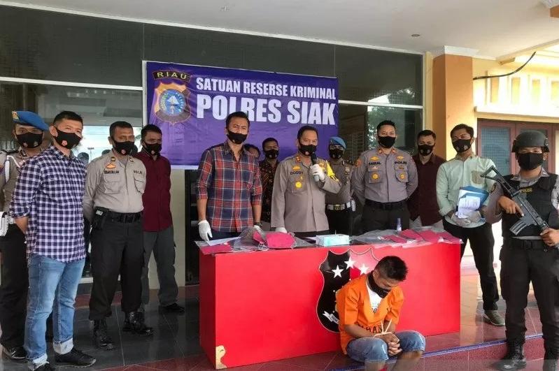 Ekspos kasus pencabulan dan pembunuhan bocah di Siak.