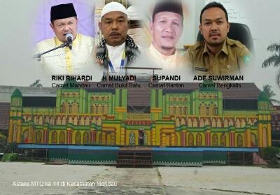 Astaka MTQ Tingkat Kabupaten Bengkalis.