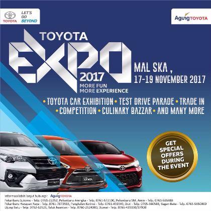 Ilustrasi Toyota Expo 2017