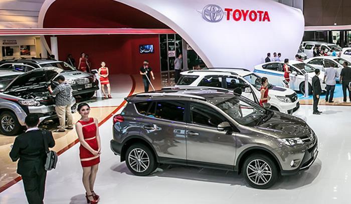 Toyota saat ikuti GIIAS