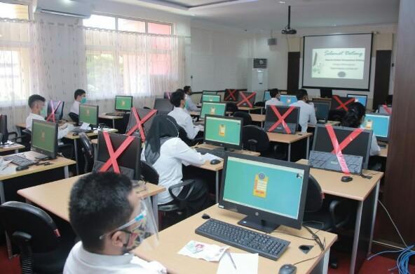 Tes SKB CPNS Pemprov Riau.
