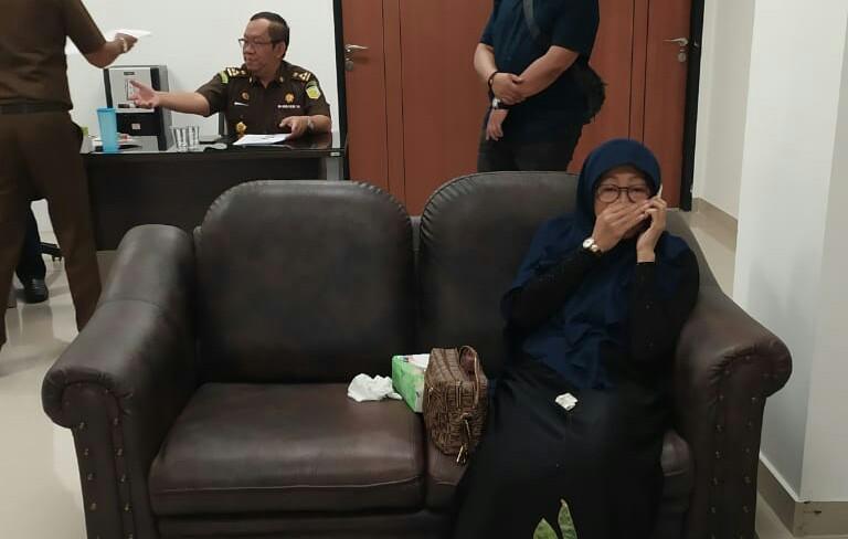 Terpidana korupsi tiket Garuda Indonesia yang berhasil ditangkap.