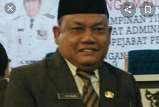 Jubir TimGugus Tugas Penanganan COVID-19 Rohul, Drs Yusmar MSi.