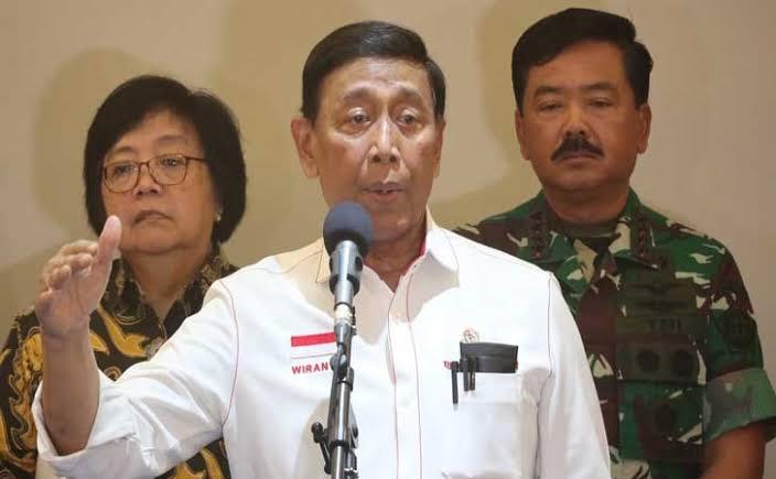MENTERI Koordinator Politik, Hukum dan Keamanan (Menko Polhukkam), Wiranto.