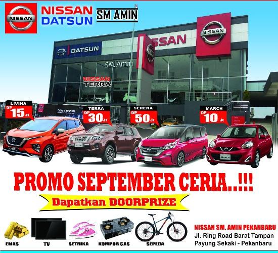 Program September Ceria Nissan SM Amin hadir di Pekanbaru Auto Show