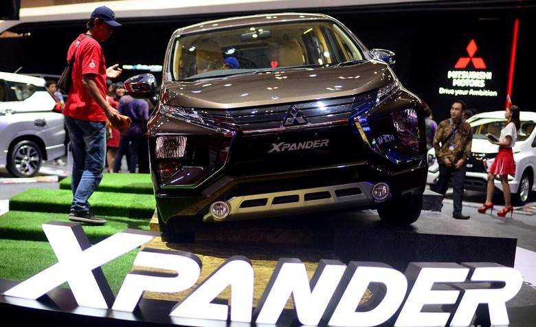 Mitsubishi Xpander saat hadir di ajang GIIAS 2018