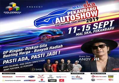 Pekanbaru Auto Show dibuka sore nanti.