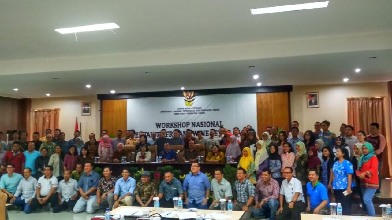 Para peserta Workshop Penyakit African Swine Fever (ASF).