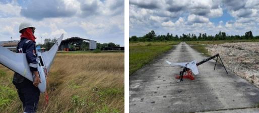 PT CPI memanfaatkan teknologi pesawat nirawak alias drone dan kecerdasan buatan untuk mengawasi jaringan pipa penyalur minyak mentah di WK Rokan, Riau.