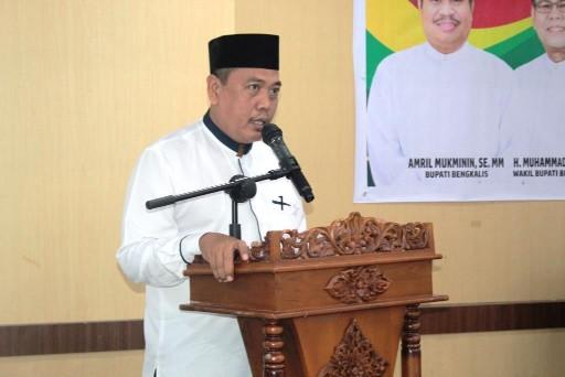 Amrizal kembali nakhodai MUI Kabupaten Bengkalis.