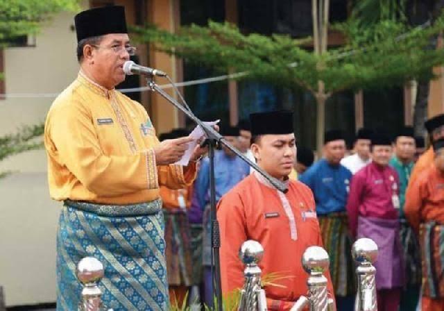 Pj Sekretaris Daerah (Sekda) Provinsi Riau Ahmad Syah Harrofie.