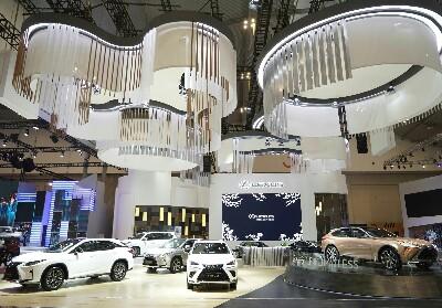 "Lexus Indonesia menyajikan ""Royal Kabuki Lounge""."
