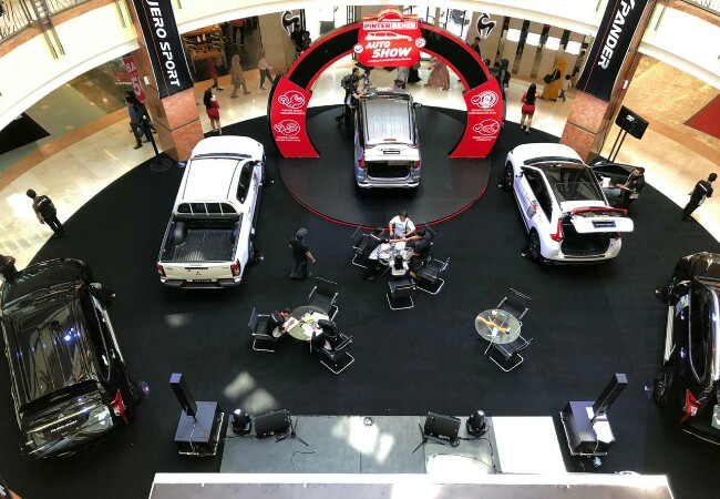 Mitsubishi Motors Auto Show 2019 yang digelar di Pekanbaru banjir promo.