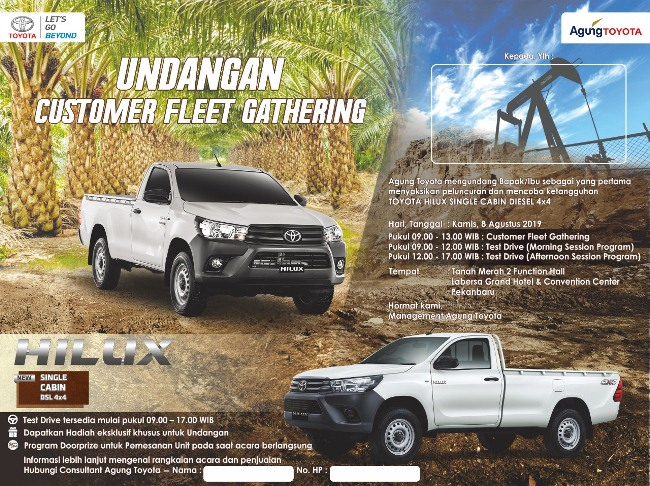 Hilux Single Cabin Diesel