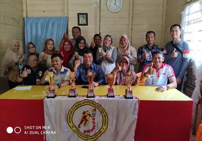 Rapat evaluasi serta rapat pembentukan Panitia pelaksana kejuaraan sepatu Roda se-Sumatera.