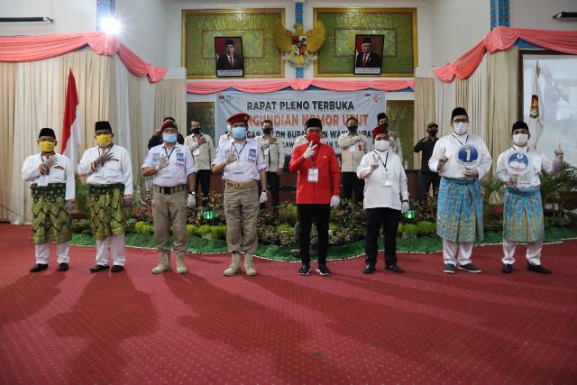 KPU Pelalawan Rapat Pleno Pencabutan Nomor Urut Paslon Bupati dan Wabup Pelalawan.