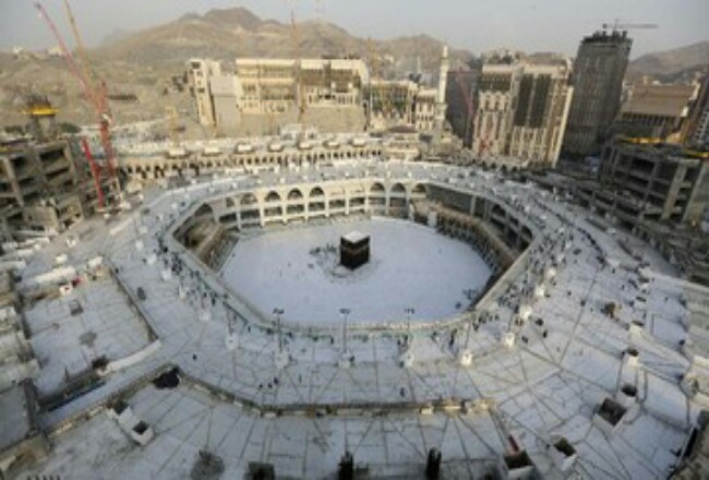 Masjid Haram sepi dari jemaah usai wabah Virus Corona.
