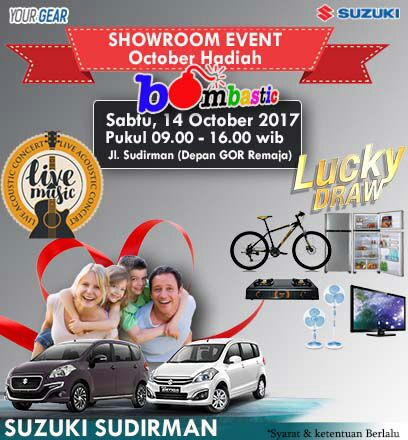 Ilustrasi showroom event Suzuki Sudirman Pekanbaru