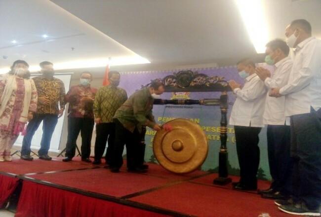 Pembukaan pembinaan official dan calon peserta Swayamvara Tripitaka Gatha Provinsi Riau.